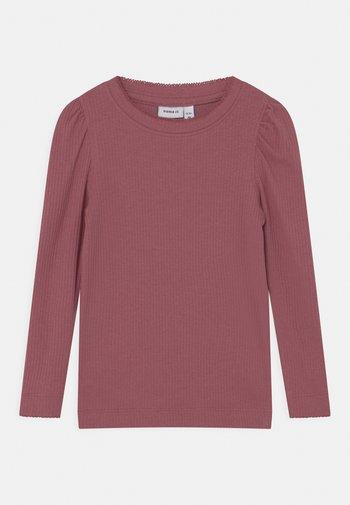 NMFKABEXI SLIM - Long sleeved top - deco rose