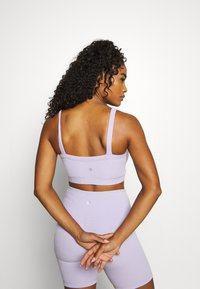 Cotton On Body - TEXTURED CROP - Light support sports bra - lilac dream - 2
