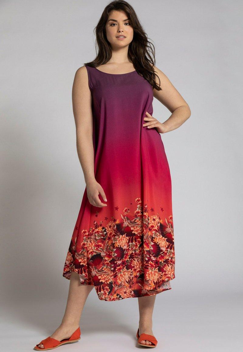 Ulla Popken - Jersey dress - rouge vin foncé