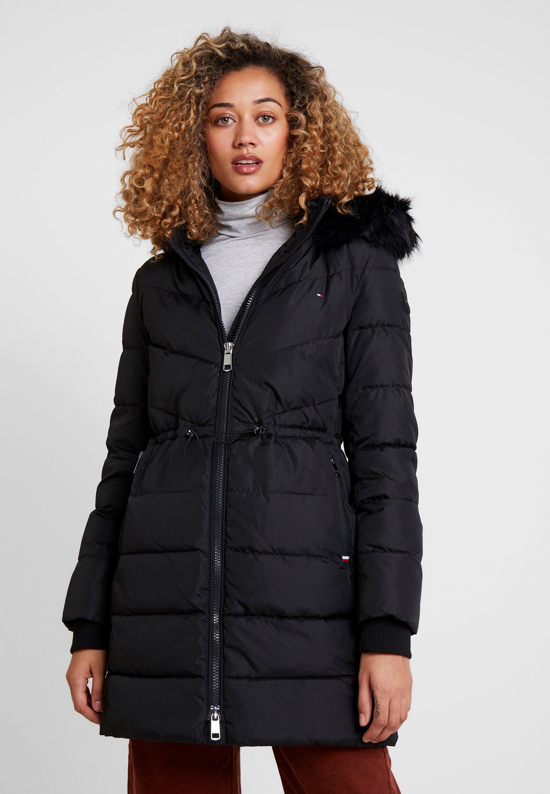 escapar Anguila Infidelidad  Tommy Hilfiger ALANA PADDED COAT - Winter coat - black - Zalando.ie