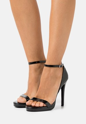 REAGAN - High heeled sandals - black