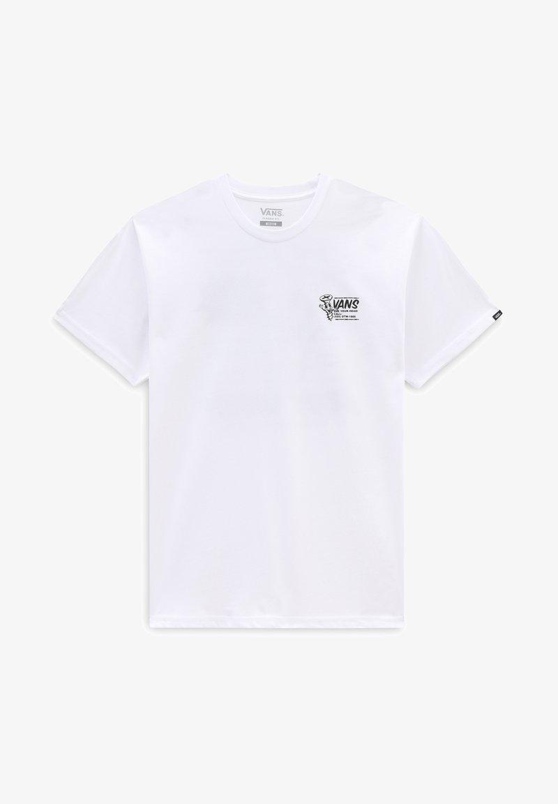 Vans - MN VANS HARDWEAR SS - Print T-shirt - white