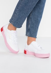 Puma - CALI - Baskets basses - white/pale pink - 0