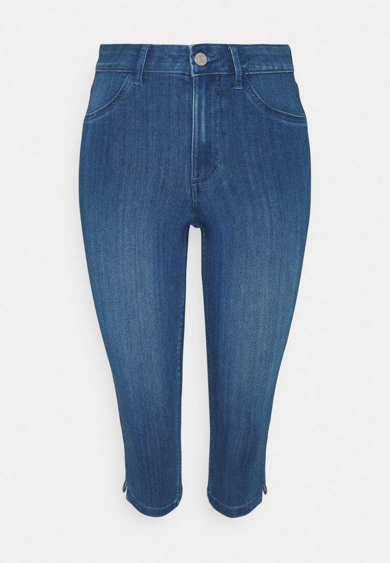 Vila - VIJEGGY CAPRI - Shorts - medium blue denim
