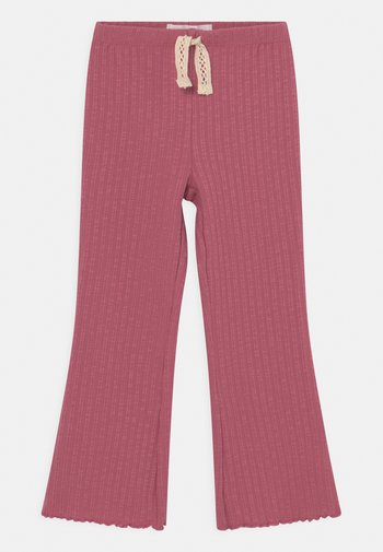 FRANCINE FLARE - Trousers - very berry