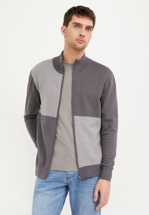 veste en sweat zippée - dark grey
