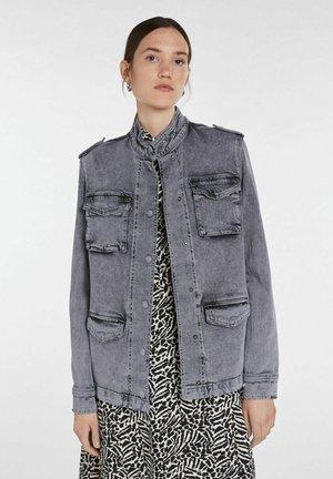 Denim jacket - grey denim