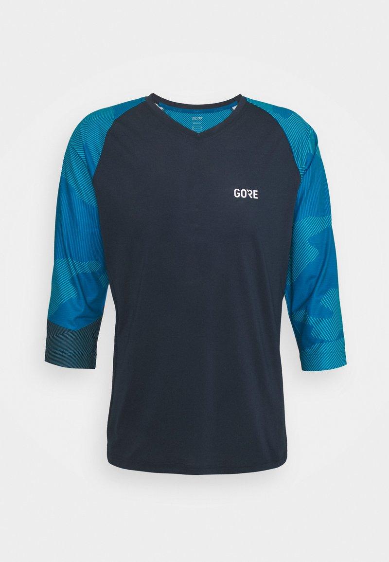 Gore Wear - TRAIL - T-shirt imprimé - orbit blue/sphere blue