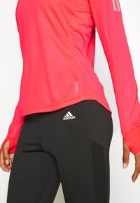 adidas Performance - SPORTS RUNNING LONG SLEEVE - Sports shirt - signal pink - 5