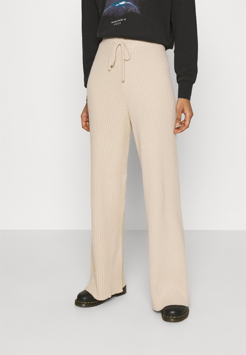 Topshop - SOFT TROUSERS - Trousers - clay