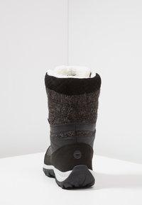 Hi-Tec - RIVA WP - Winter boots - black - 3