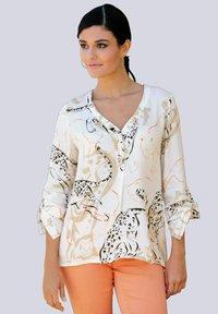 Alba Moda - Blouse - off-white,beige,orange - 0
