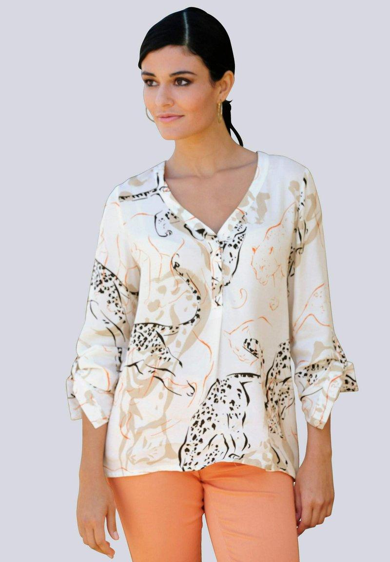Alba Moda - Blouse - off-white,beige,orange