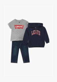 Levi's® - COLLEGIATESET - Hoodie met rits - dark blue - 0