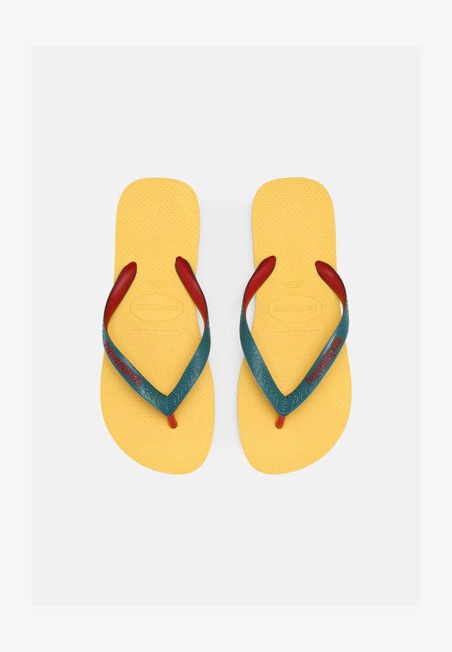 TOP MIX UNISEX - Teensandalen - gold yellow