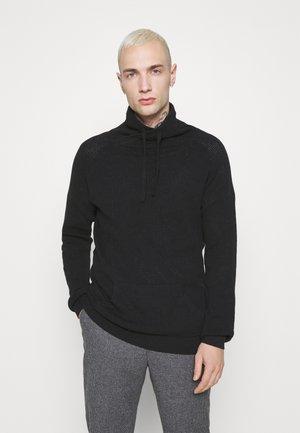 TURRELL - Stickad tröja - jet black