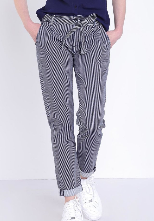 Broek - stone blue denim