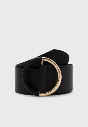 NUPPA WAIST BELT - Pásek - black/gold