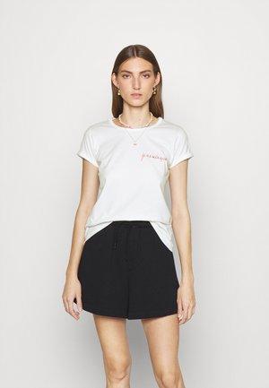 TEE - T-shirts - white