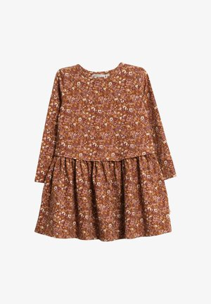 Day dress - nutella flowers