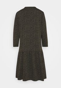Cartoon - Jersey dress - khaki/black - 1
