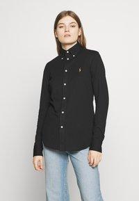 Polo Ralph Lauren - HEIDI LONG SLEEVE - Camisa - black - 0