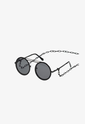 CHAIN SUNGLASSES - Solbriller - black/black