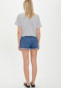 DeFacto - Denim shorts - blue - 2