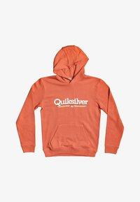Quiksilver - Hoodie - chili - 0