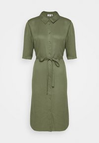 RYAWA DRESS - Shirt dress - reseda green