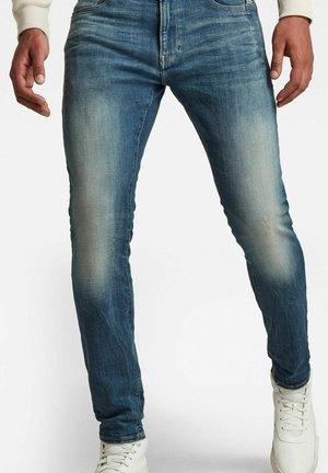 LANCET SKINNY - Jeans Skinny Fit - antic faded baum blue