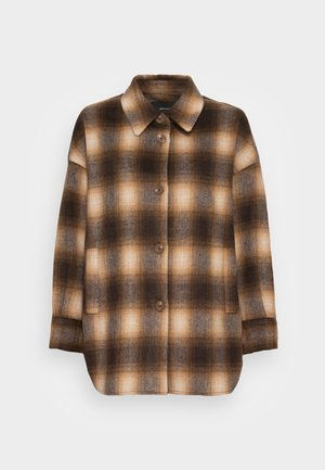 JEFTA - Short coat - maple