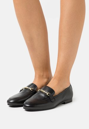 LIZA SNAFFLE LOAFER - Slipper - black