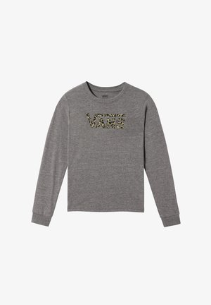 GR LEOPARD V - Print T-shirt - grey heather