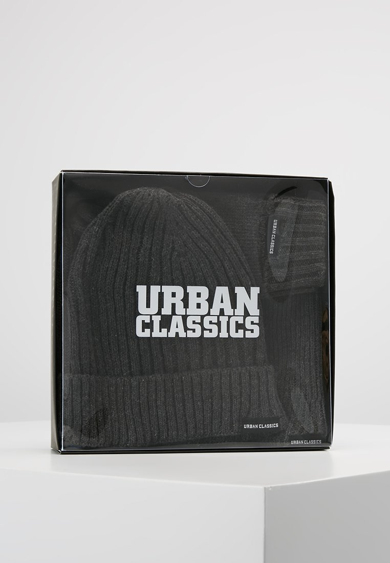 Urban Classics Classic Set - Schal Darkgrey Melange/grau