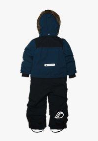 Didriksons - TIRIAN KID'S COVERALL - Zimní kalhoty - hurricance blue - 2