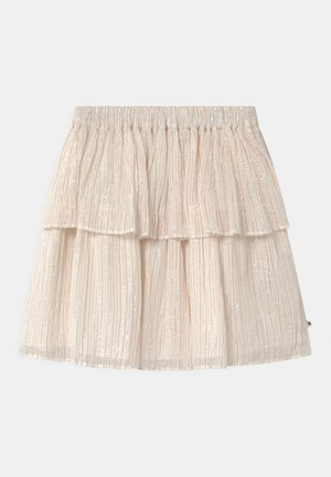 BROOKE - A-line skirt - metallic