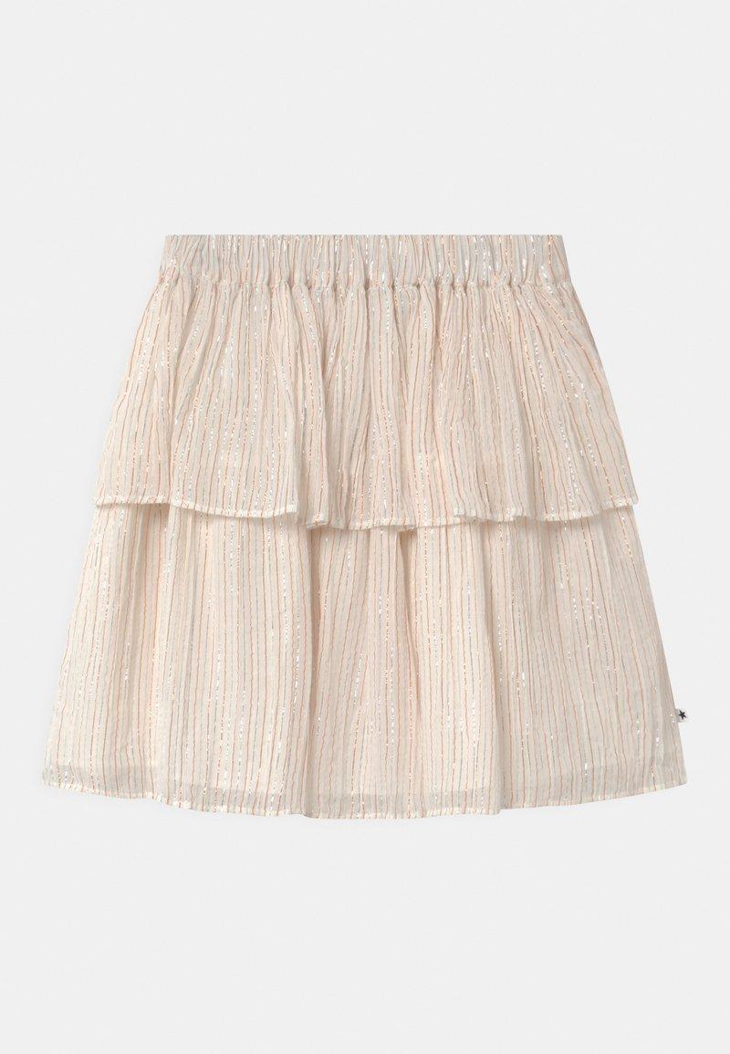 Molo - BROOKE - Áčková sukně - metallic