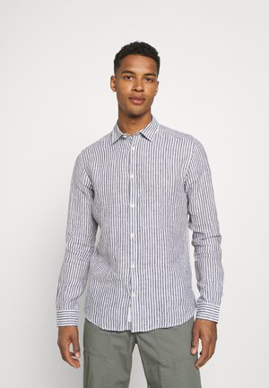 ONSKARLO SHIRT - Shirt - dark navy/white