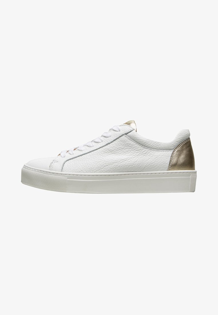 Selected Femme - SFDONNA CONTRAST - Trainers - gold