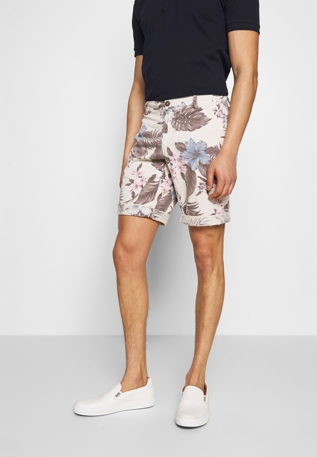 Shorts - white/grey
