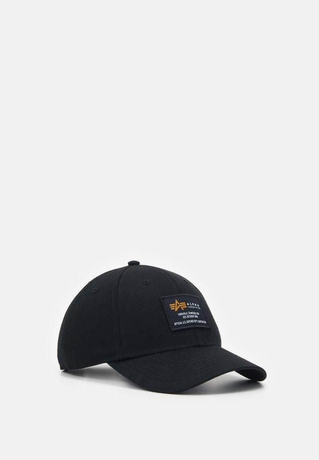CREW CAP - Czapka z daszkiem - black