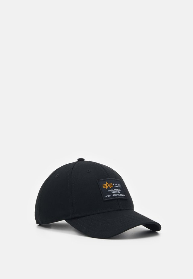 CREW CAP - Kšiltovka - black