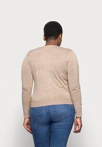 Marks & Spencer London - CREW CARDI PLAIN - Cardigan - beige - 2