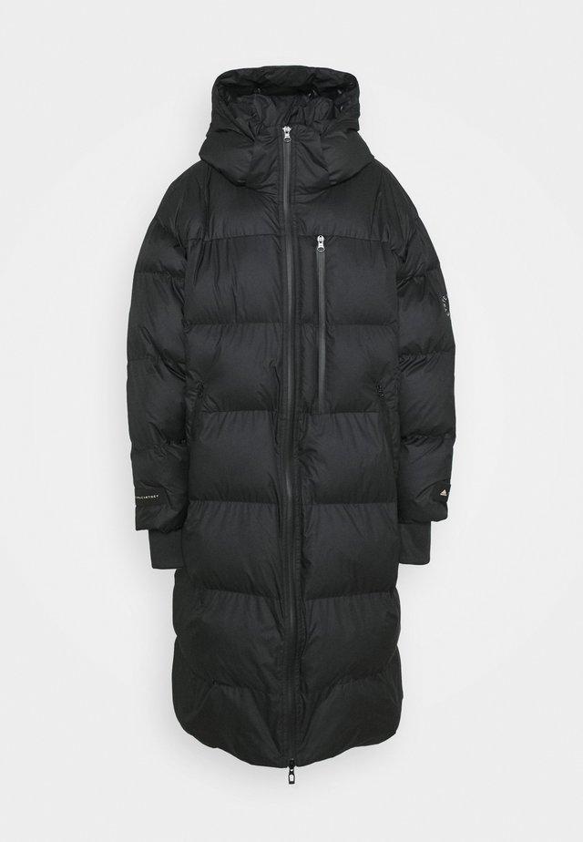 LONG PADDED - Zimní kabát - black