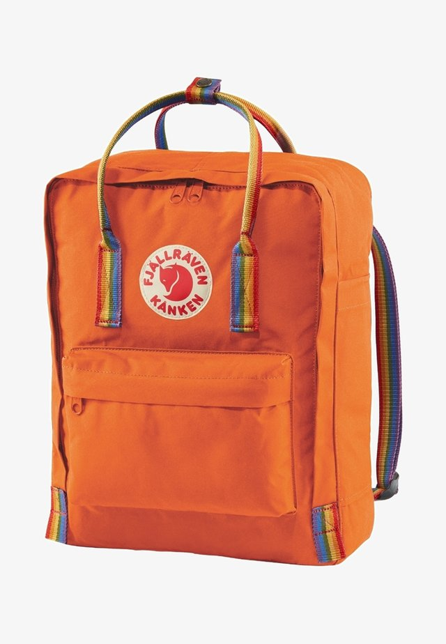 Rucksack - burnt orange/rainbow