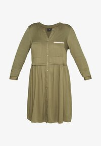 ZAY - YFIERCE  DRESS - Robe chemise - rifle green - 4