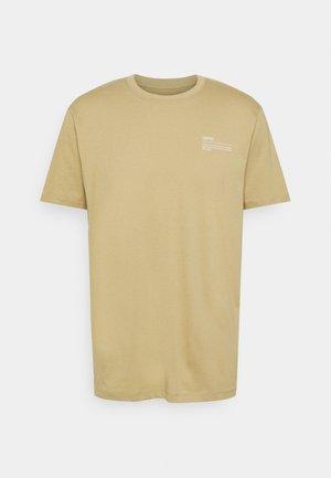 TEE - Basic T-shirt - beige