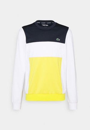 TENNIS BLOCK - Sweatshirt - navy blue/white/navy/blue