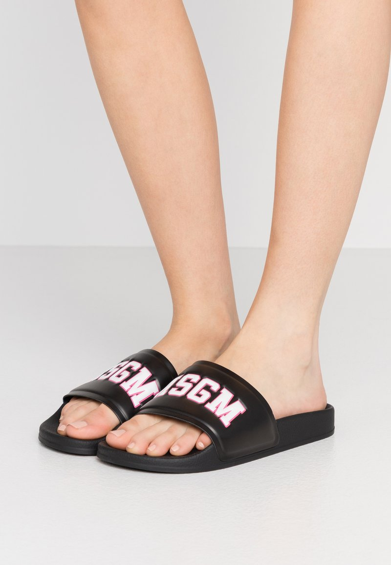 MSGM - CIABATTA DONNA WOMANS SLIDE - Pantofle - black